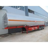 Wholesale 2 / 3 Axles Carbon Steel Water Tanker Semi Trailer , Semi Tank Trailers from china suppliers