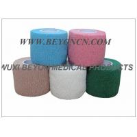 Wholesale Cotton Cohesive Bandage Self Adhesive High Tensile For Hospital Sports Vet Use from china suppliers