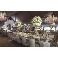 Wholesale Gorgeous Lining Adored Aluminum Frame Canopy Beautiful Wedding Dinner Party Tents from china suppliers