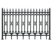 Wholesale Euro Steel Fence for residential fencing model DK001 from china suppliers