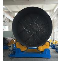 Wholesale Large Rotary Capacity Automatic Rotator For Silo Tank Welding Production from china suppliers
