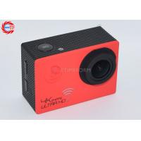 Buy cheap Novatek 96660 170 Degree 4k Sports Action Camera WIFI 16m High Definition from Wholesalers