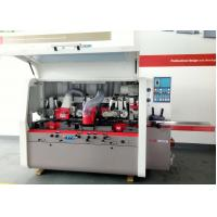 Wholesale High Efficiency Industrial Woodworking Machine , Four Side Wood Spindle Moulder Machine from china suppliers