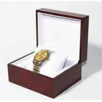 Wholesale Classic Jewelry Wooden Box With White Leather Pillow  , Wooden Watch Box from china suppliers
