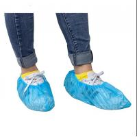 China Dust Resistant Non Slip Disposable Shoe Covers on sale