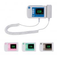 China Three Color digital Baby Heartbeat Doppler uBaby Heart Monitor Ultrasound Equipment on sale
