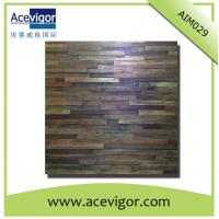 Wholesale Antique wood wall mosaic panel wood wall mosaic tiles from china suppliers