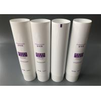 China Offset Printing Refillable Squeeze Tubes , Glossy Coating Screw Cap Squeeze Tube Containers for sale