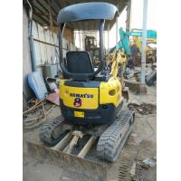 Wholesale Used KOMATSU PC15 Mini Excavator For Sale with Rubber Track shoe from china suppliers