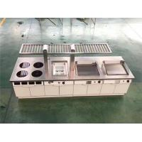 Wholesale Restaurant Hotel Kitchen Equipment Project List Depth 900Mm induction Modular Cooking Line from china suppliers