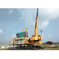 Wholesale Concrete Hydraulic Static Pile Driver , Square Pile Driving Equipment from china suppliers