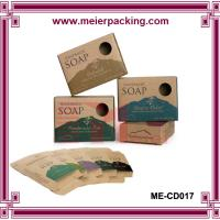 Wholesale Personalized Cheap Custom brown kraft paper soap box ME-CD017 from china suppliers