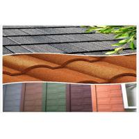 Wholesale Steel Waterproof Stone Coated Metal Roof Tiles / european roof tile from china suppliers