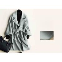 Wholesale Soft Warm Handmade Wool Coat , Ladies Tailored Wool Coat Many Colors Available from china suppliers