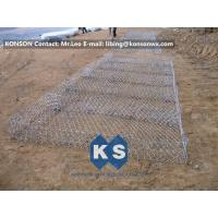 Wholesale Eco-friendly Flexible Gabion Box And Gabion Mattress Protecting Falling Rocks from china suppliers