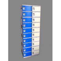 Buy cheap 10 Tier Blue Mobile Phone Lockers Corrosion Proof With Clover Keyless Lock from wholesalers