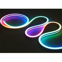 Wholesale 12V 24V LED Neon Rope Light Side View 10mm Wide LED Flex Tube Lights CE Certificated from china suppliers
