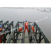 Customized Design Prefabricated Steel Structure Bailey Bridge Construction Long Span