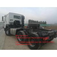 China 420hp Sinotruk Howo7 Tractor Truck 6x4 10 Wheels HW76 Cabin For Tow 50T for sale