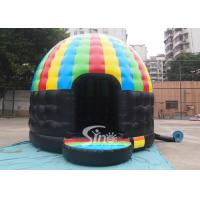 Kids N adults party inflatable disco dome bouncy castle made of lead free pvc for sale
