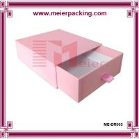 Wholesale wholesale slide pull out rigid custom paper pink gift box luxury boxes ME-DR005 from china suppliers
