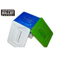 Wholesale Large Waterproof Plastic Ballot Box Lockable Plastic Collection Box For Election Color Custom from china suppliers