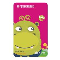 Wholesale Plastic RFID Student Bus Travel Card with QR Code and New Printing from china suppliers