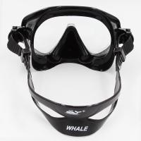 Quality Red Fashion Professional Free Diving Mask Snorkel Sets For Adult for sale