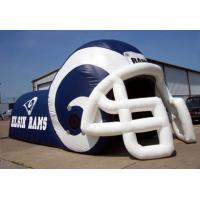 Wholesale Rent Giant Inflatable Football Helmet Run Through For School Activities from china suppliers