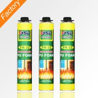 Wholesale 500ml 750ml home construction fireproof polyurethane Foam fire proof spray foam insulation from china suppliers