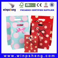 Wholesale hotselling paper bags/gift bag from china suppliers