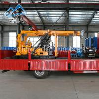 Wholesale XYC-3 Hydraulic Rotary Rock Borehole Machine Deep Water Well Drilling Truck 600 Meters from china suppliers