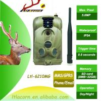 Wholesale New Mobile Scouting Hunting Camera Ltl-6210M Series MMS GSM Camera with 32GB SD Card hunting camera mms from china suppliers