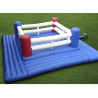 Wholesale Portable Inflatable Sports Games For Kids , PVC Inflatable Boxing Ring Court from china suppliers