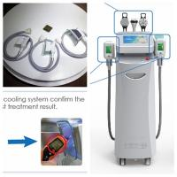 Wholesale Ultrasound Cryotherapy Fat Freezing Machine , Vacuum Roller RF Skin Tighten Machine from china suppliers