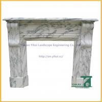 Wholesale Hand Carved Stone Marble Fireplace Mantel from china suppliers