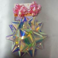 Wholesale Rainbow Pattern Ribbons And Bows 4 Inch Diameter Big Size Star Bow from china suppliers
