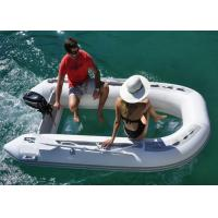 Wholesale V Shape Transparent Inflatable Boat Convenient Carry 3.6m With Two Piece Aluminum Oars from china suppliers