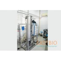 China Pt-100 Probe Lab Scale Bioreactor Stainless Steel Airlift Fermenter Floor Stand for sale