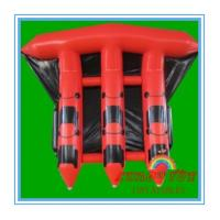 China Red 0.9mm PVC Inflatable Boat For Sea , Adult Inflatable Fly Fishing Boats(CY-M2728) on sale