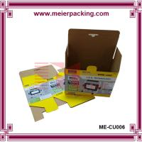 Wholesale Foldable corrugated LED light box, factory cheap electronic paper printing box ME-CU006 from china suppliers