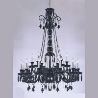 Wholesale Lead crystal chandelier 18 Lights Black Transparent Color (WH-CY-112) from china suppliers