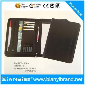 China A4 cheap zipper document bag hot sale on sale