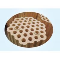 China Lattice Fire Clay Bricks For Checker In Upper Part Of Hot Stove Regenerator on sale