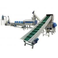 1000KG Plastic Washing Recycling Line Machine For Agriculture Film, Woven Bags for sale