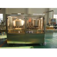 China Tin Liquid Bottle Can Filling Machine Equipment for Tea / Beverage SUS 304 316 for sale