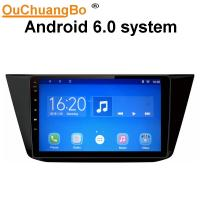 Buy cheap Ouchuangbo car radio stereo gps nav android 6.0 for Volkswagen Tiguan 2017 with 1080 Video SWC bluetooth calculator from wholesalers