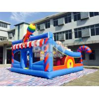 Wholesale 6 * 5.7 * 4.3m Inflatable Bouncy Castle Children Amusement With Sport Elements from china suppliers