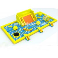 Wholesale Latest Inflatable Amusement Park With Plastic Ball , Inflatable Toys Park For Kids from china suppliers