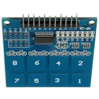 Quality 8 for Channel Digital Touch Sensor Module Capacitive Switch Module Button TTP226 for sale
